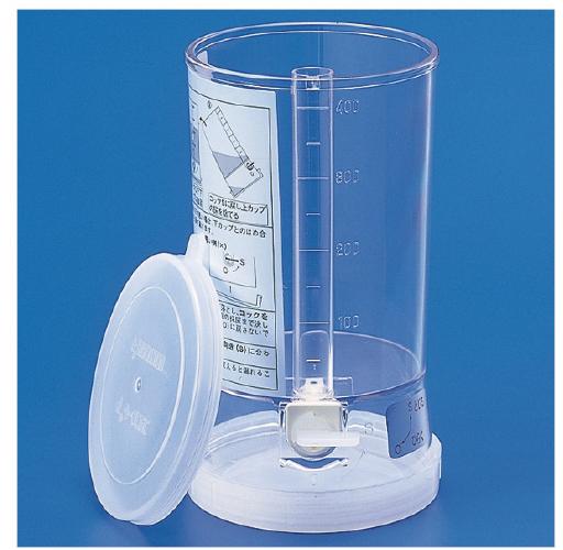 【送料無料】ユリンメートP  MD-63350 容量(採尿カップ/蓄尿カップ):400ml/有効80ml入数:10コ