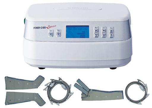【送料無料】空気圧式マッサージ器エアGパワーQ1000プレミアム  Power-Q1000 Premium