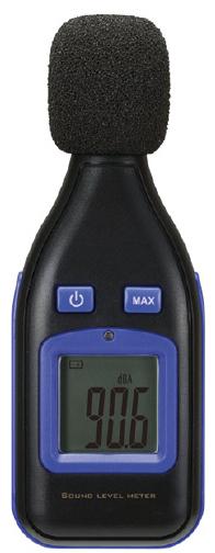 騒音計  SL-100U サイズ:W53×D35×H133mm