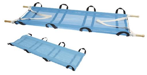 【送料無料】カラー担架(布担架兼用・メッシュ)  YS-42-A-HM(ブルー)
