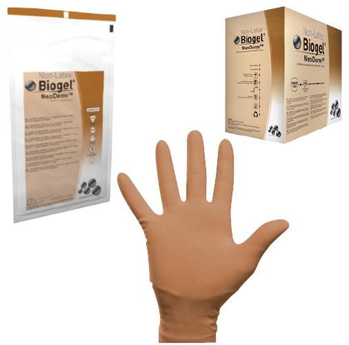 メンリッケヘルスケア 手術用手袋 バイオジェル ネオダーム 42965 サイズ:6.5 入数:50双