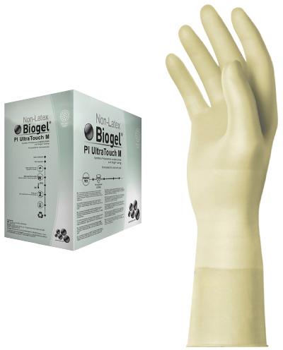 メンリッケヘルスケア 手術用手袋 バイオジェル PIウルトラタッチM 42675 サイズ:7.5 入数:50双