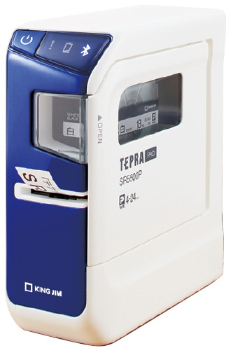 キングジム ラベルライター テプラPRO SR5500P サイズ:W54×D132×H146