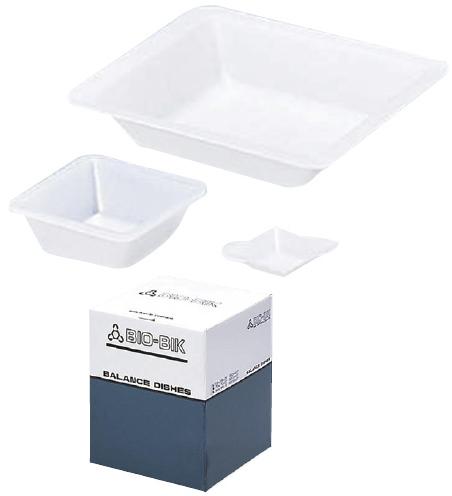 松吉医科器械 帯電防止型バランスディッシュ(秤量皿) AS-DM サイズ:W70×D70×H22 入数:800枚