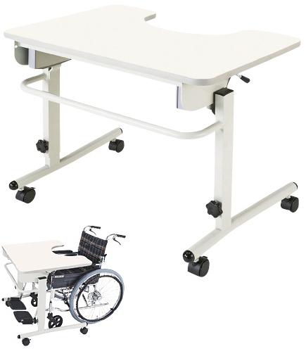 マキテック 安心テーブル ANT-01NW サイズ:W800×D600×H650~800