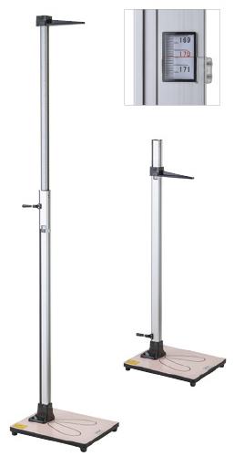 身長計(伸縮式) YS301-P 規格:2.0m