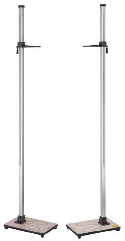 シルバー身長計 YS502-P 規格:1.5m