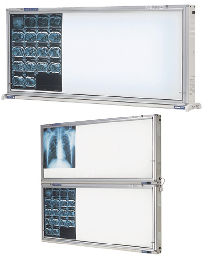 オリオン電機 インバーター式シャウカステン 卓上・壁掛型1段 ORS-H411-F 規格:半切判4枚掛