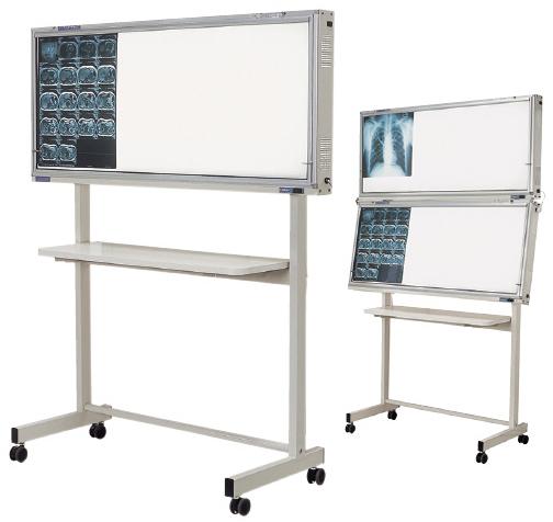 オリオン電機 インバーター式シャウカステン 架台付型1段 ORS-H411Y-F 規格:半切判4枚掛