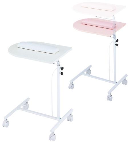 松吉医科器械 SN採血テーブル(コンパクト) SN-T005P カラー:ピンク