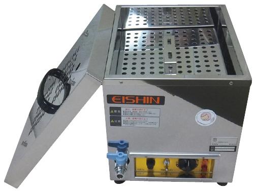 エイシン電機 哺乳びん煮沸消毒器 HEM-16A 収容量:200×16本