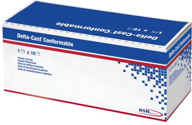 【BSN medical】デルタキャストコンフォーマブル 4号 7228033(10カンイリ)