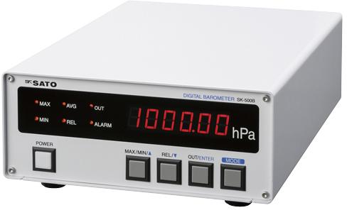 デジタル気圧計 SK-500B