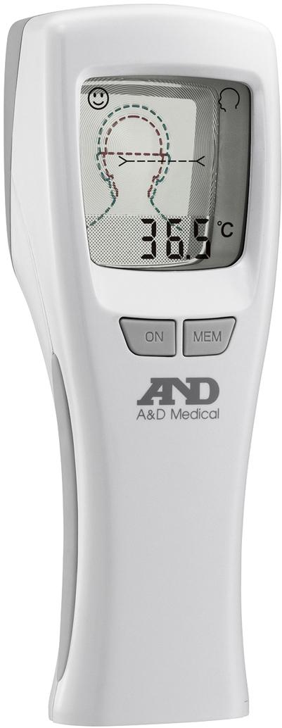 【エー・アンド・デイ】多点非接触型体温計 フェイスサーモ  TM-1621