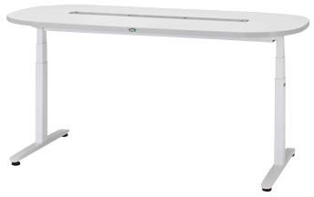 【サカセ化学工業】ナーシングテーブル(天板電動昇降式) NT-102S(1800X900)