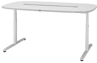 【サカセ化学工業】ナーシングテーブル(天板電動昇降式) NT-103S(1800X1200)