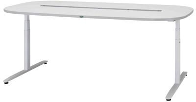 【サカセ化学工業】ナーシングテーブル(天板電動昇降式) NT-105S(2200X1200)
