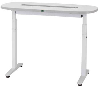 【サカセ化学工業】ナーシングテーブル(天板電動昇降式) NT-106S(1200X600)