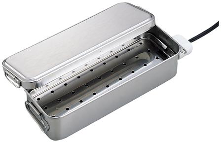 携帯業務用煮沸器(ヒーターなし・大) 260X125X65MM
