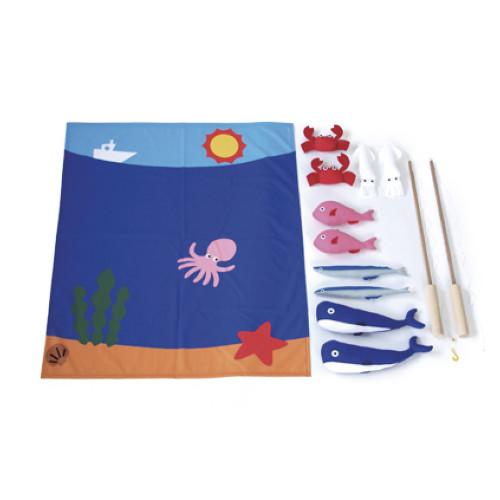 トッケン さかな釣り遊び  サイズ:W750×D870