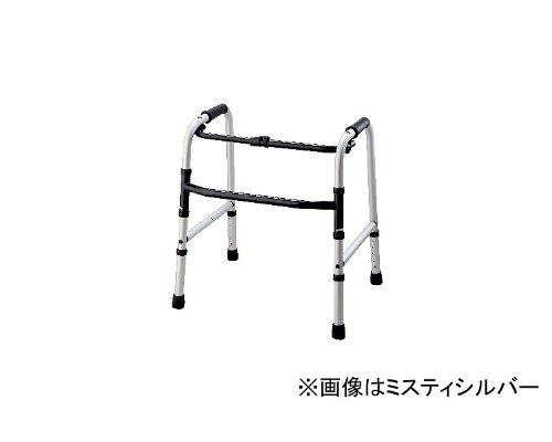 固定式歩行器 超低床タイプ/ T-5013 ミスティシルバー