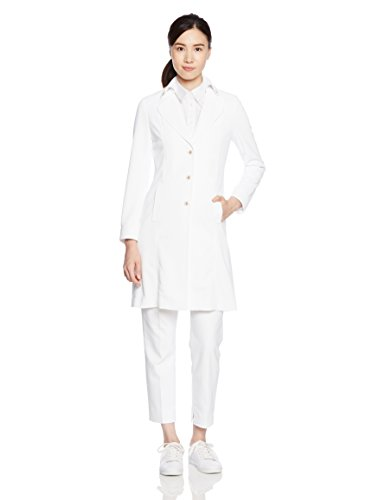 (キャララ) Calala ナポレオンカラーホワイトコート 医療白衣CL-0101 CL0101 C-1 ホワイト 7号
