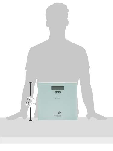 A&D Bluetooth内蔵体重計 UC-352BLE UC-352BLC-JC