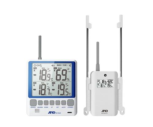 ワイヤレスマルチチャンネル温度計 AD-5663