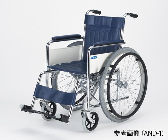 超軽量車いす(アルミ)KALUα自走 ライトブルー NA-L8A-A(380MM)エアリー