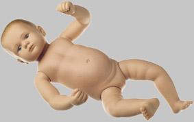 【送料無料】【無料健康相談 対象製品】ソムソ社 赤ちゃん模型 ms43
