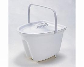 ポータブルトイレ用バケツ 信憑 VALPTH13W 安全