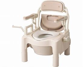 【あす楽】【送料無料】ポータブルトイレ FX-CPはねあげ暖房快適脱臭