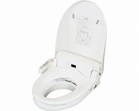 【送料無料】温水洗浄便座付き補高便座#3リモコン付き21cm