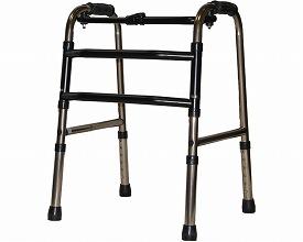 【あす楽】【送料無料】固定式折りたたみ式歩行器スモールタイプ【非課税】