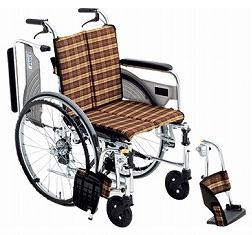 【送料無料】スレンダー車椅子SKT-4 #A-6 座幅38 【非課税】【02P06Aug16】