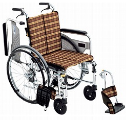 【送料無料】スレンダー車椅子SKT-4 #A-6 座幅40【非課税】