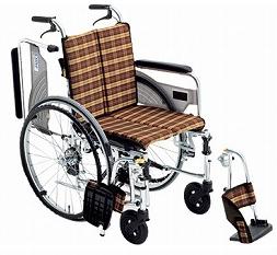 【送料無料】スレンダー車椅子SKT-4 #32 座幅40【非課税】【02P06Aug16】
