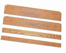 【送料無料】木製ミニスロープ 高さ4.0 長さ160