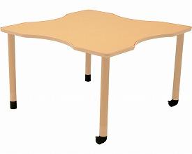 【送料無料】ダイニングテーブルHT(昇降脚セット)