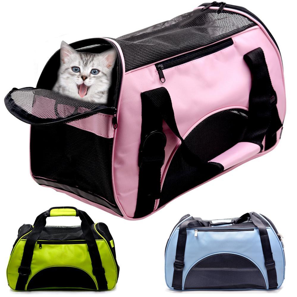 購入 愛犬 愛猫の移動に ペット用 キャリーバッグ ボストン 2WAY 人気ブランド 猫 小型犬にピッタリ ショルダー