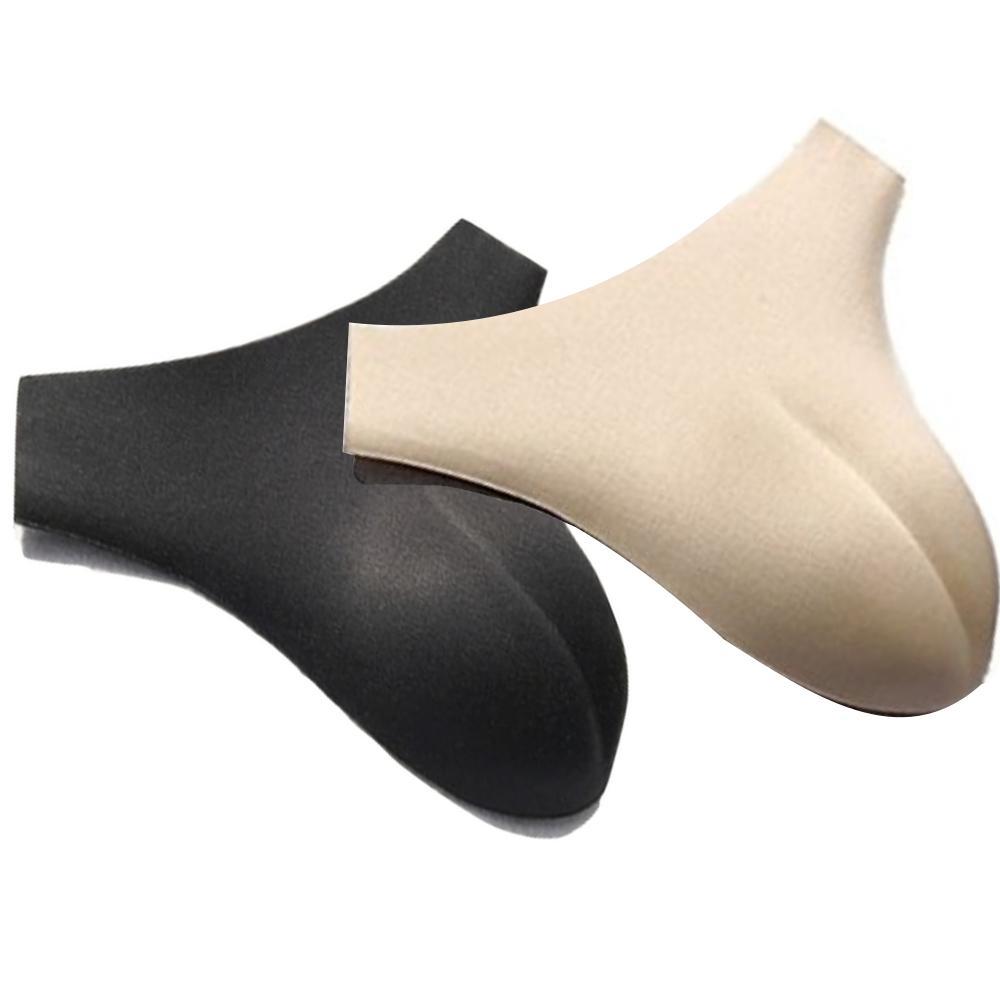 下半身をサポートし、女性らしいボディーラインを実現 男性用 パンツパッド 女装 変装用 インナー 股間 パッド 2カラー
