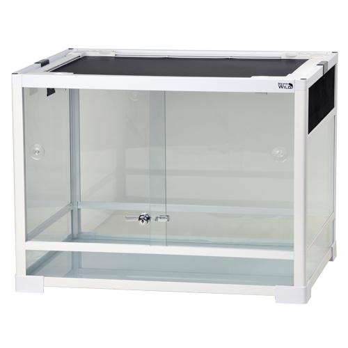 NEW売り切れる前に☆ 内部の支柱で支えられた安定感のある業界初の組立式ガラスケース 三晃商会 SANKO パンテオン ホワイト 爬虫類 毎日続々入荷 組立式 WH6045 小動物 ガラスケース