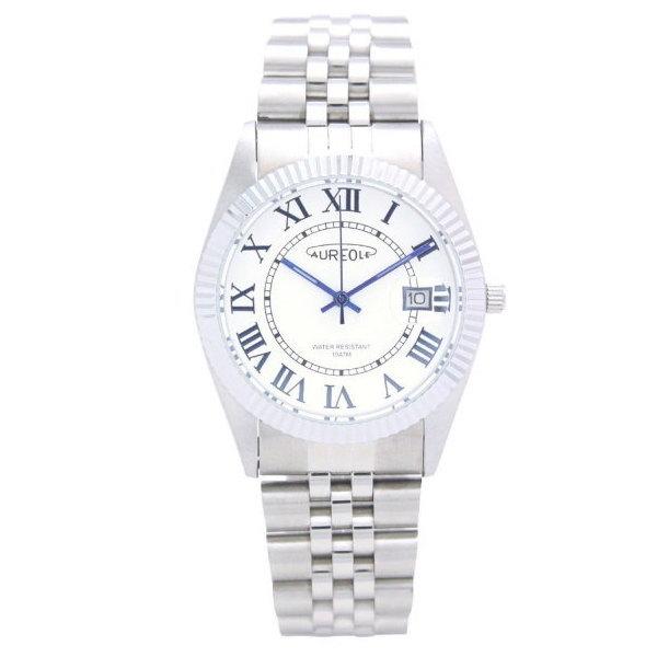 オレオール メンズ腕時計 10気圧防水機構 AUREOLE 日本製 SW-592M-C ギフト プレゼント
