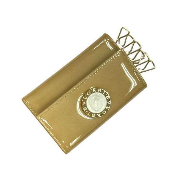 ブルガリ 6連キーケース BVLGARI 3376 ゴールド(パテント)ギフト プレゼント