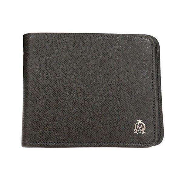 ダンヒル DUNHLL メンズ財布 ボードン BOURDON 二つ折れ財布 ダークグレー L2M130Z ギフト プレゼント 父の日 誕生日