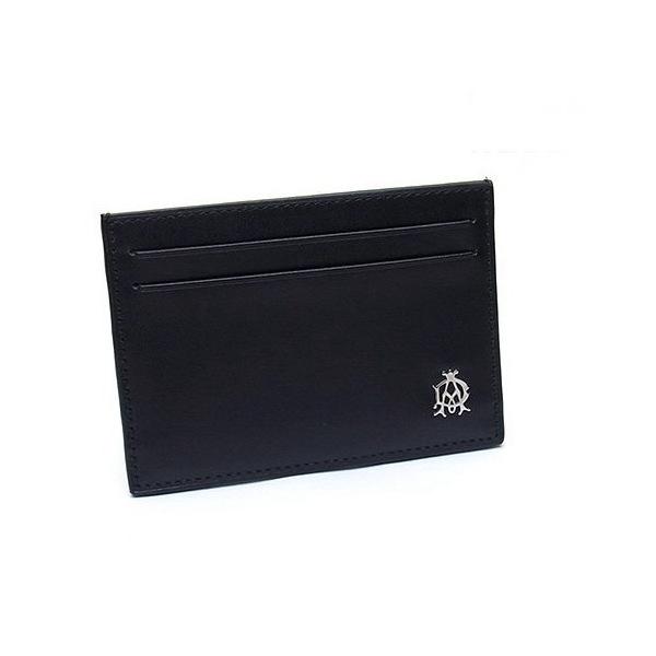 ダンヒル DUNHLL ウェセックス WESSEX シンプルカードケース ブラック L2R340A ギフト プレゼント 贈答品 記念品 父の日 昇進祝い