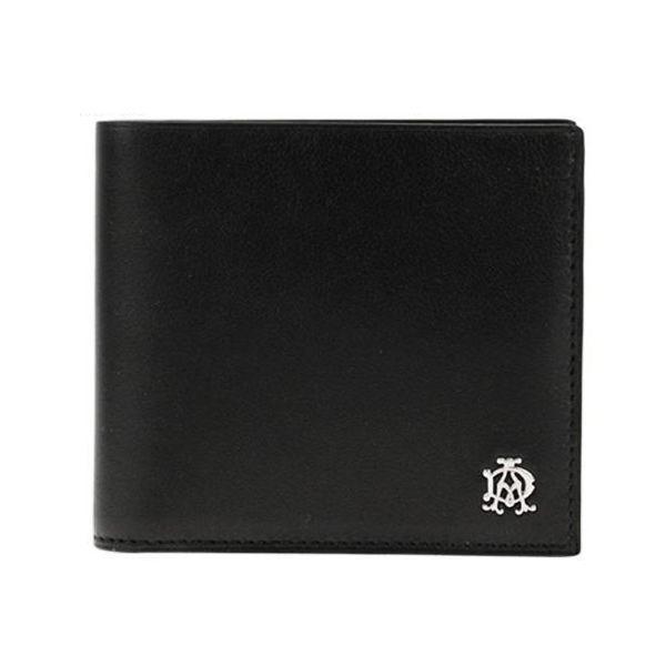 ダンヒル DUNHLL メンズ財布 リーブス 小銭入れ付2つ折り財布 ブラック L2XR32A ギフト プレゼント 贈答品 記念品 父の日 昇進祝い