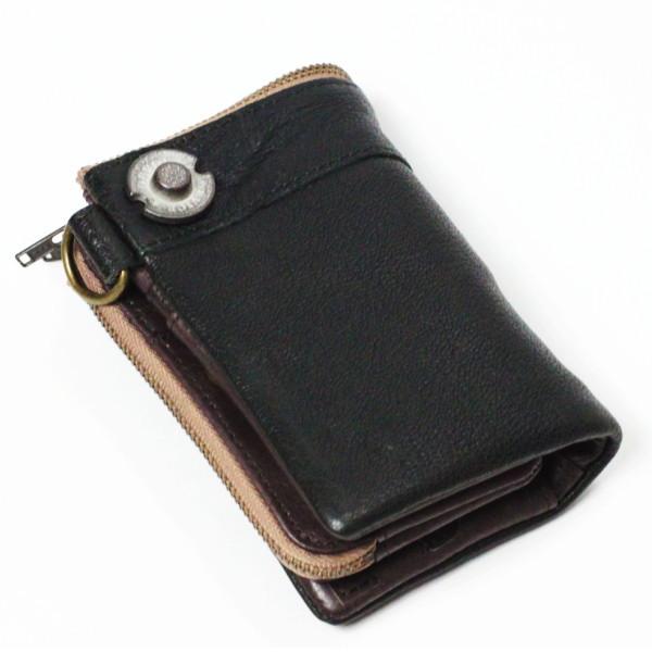 メンズ財布 デバイス DEVICE 二つ折れ財布 DKW-17058TQ ターコイズ ギフト プレゼント