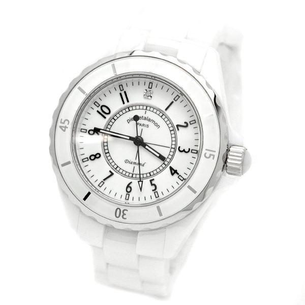 ピエール タラモン pierre talamon メンズ腕時計 オールセラミック PT1600H-WH ホワイト