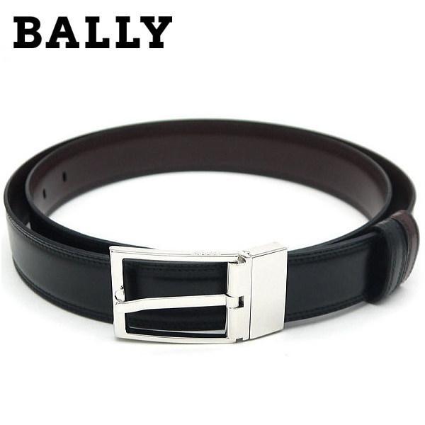 バリー BALLY メンズベルト リバーシブル BLACK CALF PLAUN 6193225 [ギフト プレゼント 贈答品 記念品 就職祝い 昇進祝い]